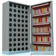 Металлический шкаф для ключей КЛ-50П с пеналом