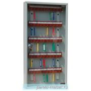 Металлический шкаф для ключей КЛ-50 со стеклянной дверцей