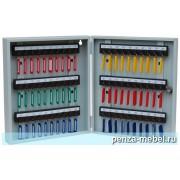 Металлический шкаф для ключей КЛ-60