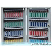 Металлический шкаф для ключей КЛ-80