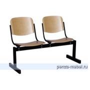 Блок стульев 2-местный, не откидывающиеся сиденья