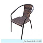 Кресло-Ротанг Ассоль-2 орех А1
