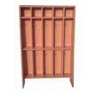 Шкаф детский 5-ти секционный напольный для полотенец 2-х ярусный