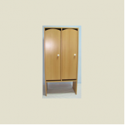 Шкаф детский 2-х секционный для одежды