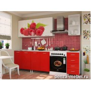 Мебель для кухни с фотопечатью ЛДСП