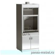 Шкаф вытяжной ШВ-01-МСК (керамика, кран, тумба)