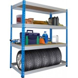 Компания Пенза Мебель предалагает выбрать и купить стеллажи грузовые быстросборные складские с допустимой нагрузкой до 300 кг. на одну полку
