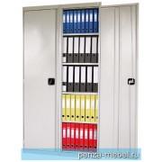 Шкаф архивный с двумя дверцами