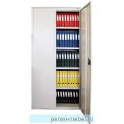 Металлический архивный шкаф усиленная конструкция