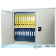 Металлический архивный шкаф усиленная конструкция высотой 880 мм