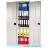 Металлический архивный шкаф шириной 1000 мм