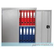 Металлический архивный шкаф высотой 920 мм