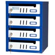 Ящик почтовый ЯПC-3 секционный (4 секции)