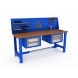 Компания Пенза Мебель предлагает выбрать и купить металлические верстаки для слесарных работ