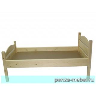 Кровать детская одноярусная массив