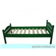 Кровать детская массив краска
