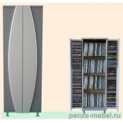 Шкаф для CD и DVD дисков мод.1